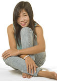 Young Asian girl Stock Image