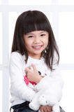 Young asian girl royalty free stock image