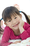 Young Asian Girl. A very cute asian girl with a pretty smile Stock Photo