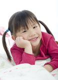 Young Asian Girl. A very cute asian girl with a pretty smile Stock Images