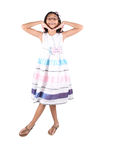Young Asian Girl Active IV Royalty Free Stock Images