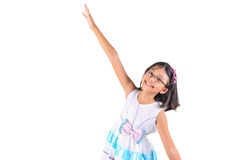 Young Asian Girl Active V Stock Photography