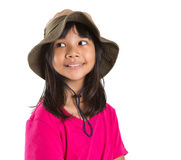Young Asian Girl With Angler Hat V Stock Photo