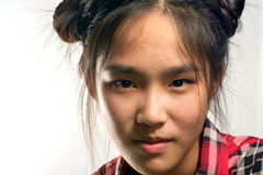 Young asian girl. Royalty Free Stock Image