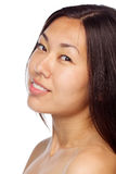 Young asian girl closeup Royalty Free Stock Photo
