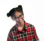 Young asian girl. Royalty Free Stock Images