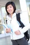 Young Asian Girl at School stock images