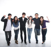 Young Asian group Stock Photography