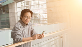 Young Asian guy royalty free stock photo