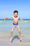 Young Asian happy child boy Royalty Free Stock Images