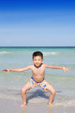 Young Asian happy child boy Stock Image