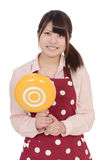 Young asian housewife Stock Photo