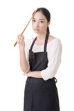 Young Asian housewife Stock Images