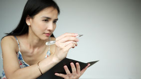 Young Asian lady Stock Photography