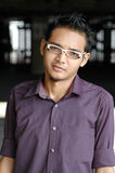 Young Asian Male. Handsome young Asian male with spectacles Royalty Free Stock Photo