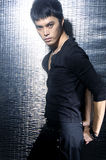 Young Asian male model posing   Stock Image