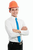 Young asian man architect Royalty Free Stock Photography
