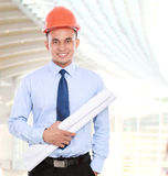 Young asian man architect Stock Images