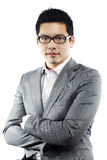 Young asian man in business attire Stock Image