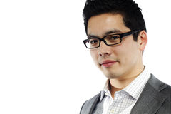 Young asian man in business attire Stock Images
