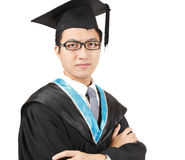 Young Asian man graduation Stock Photos