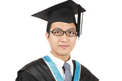 Young Asian man graduation Royalty Free Stock Photography