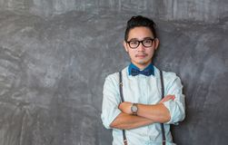 Young asian man portrait Stock Images