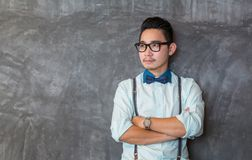 Young asian man portrait Stock Image