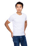Young asian man portrait Stock Photo
