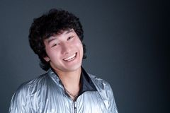 Young asian man smil Stock Image
