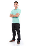 Young asian man smiling Royalty Free Stock Photo