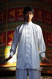 Young Asian Man In Traditional Clothing royalty free stock photos