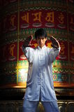 Young Asian Man In Traditional Clothing Stock Photo
