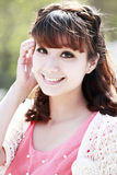 Young Asian model royalty free stock photos