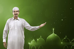 Young asian muslim man Royalty Free Stock Images