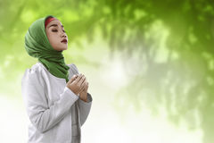 Young asian muslim woman Stock Images