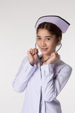 Young Asian Nurses Royalty Free Stock Photography