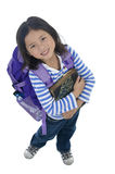 Young Asian School Girl Stock Photography