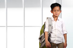 Young Asian Student Royalty Free Stock Image