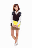 Young pretty Asian student Royalty Free Stock Images