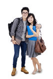Young asian students Stock Photo