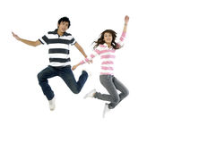 Young Asian teenage Royalty Free Stock Photography