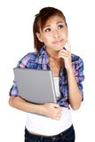 Young Asian university student. Stock Photography
