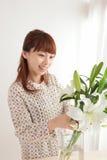 Young Asian woman Stock Photos