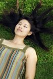Young Asian woman Stock Images