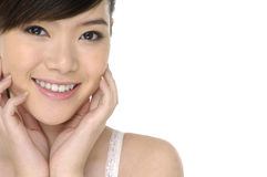 Young Asian woman Royalty Free Stock Photos