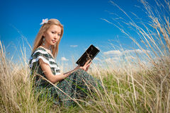 Young asian woman with book Stock Photos