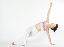 Young asian woman doing YOGA Royalty Free Stock Photography