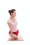 Young Asian woman  exercise yoga Stock Photos