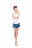 Young Asian woman full shot stock photos